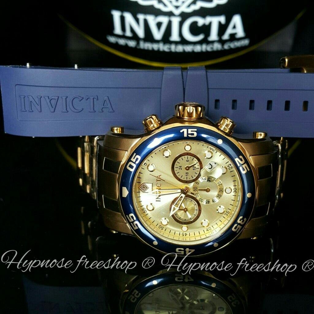 5df925104fe Relógio Invicta Pró Diver 23669 Que Troca A Pulseira azul - R  699 ...