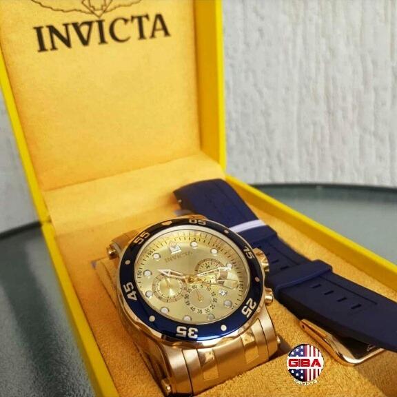becf42b6d87 Relogio Invicta Pro Diver 23669 Troca Pulseira - R  899