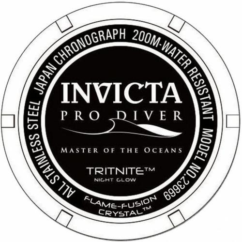 6846c55ffd5 Relógio Invicta Pro Diver 23669 Troca Pulseiras Lançamento - R  730 ...