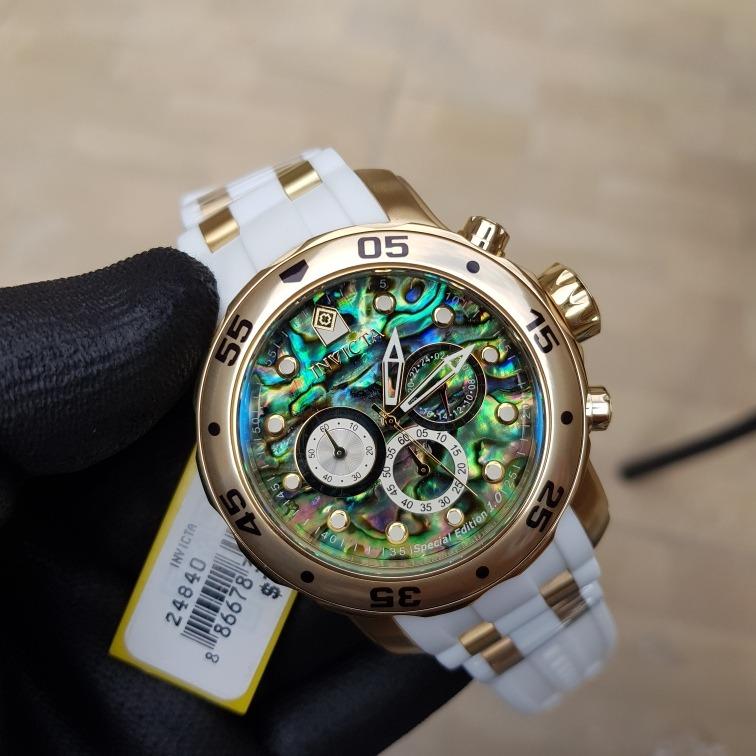 c43a8170240 Relógio Invicta Pro Diver 24840 Original Mostrador Abalone - R  679 ...