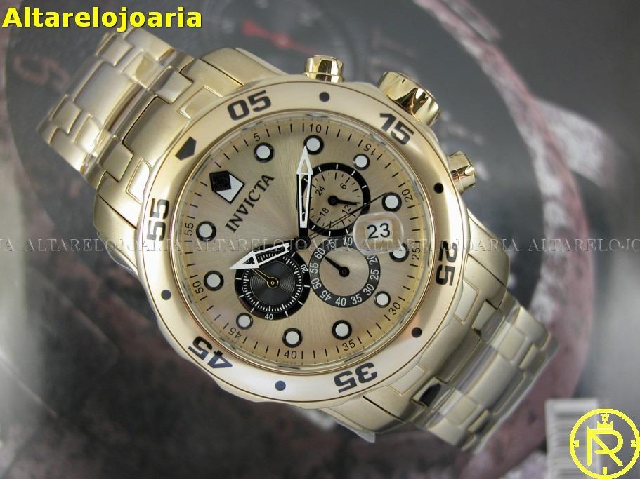 489d44e2c58 Carregando zoom... relógio invicta pro diver 24850 calendário cronógrafo