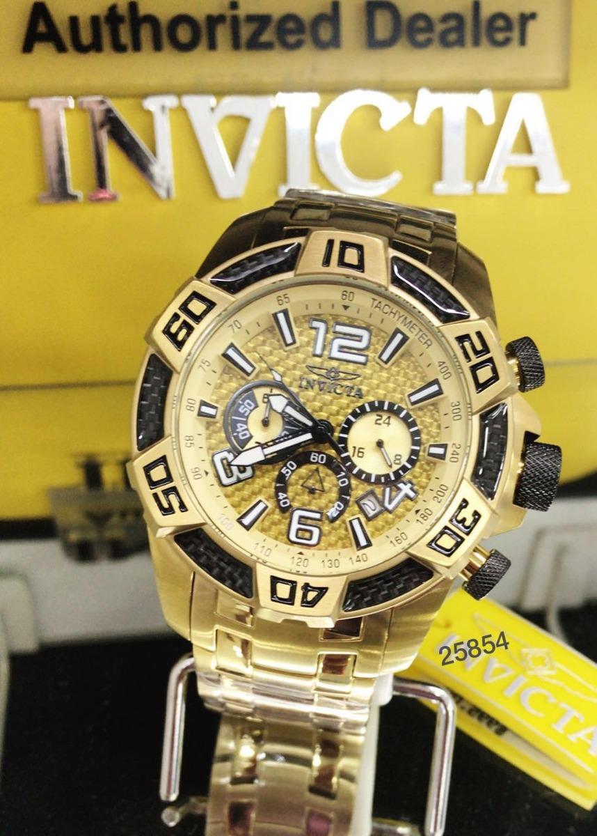 20b78cca32a Relógio Invicta Pro Diver 25854 Original Lançamento B. Ouro - R  679 ...
