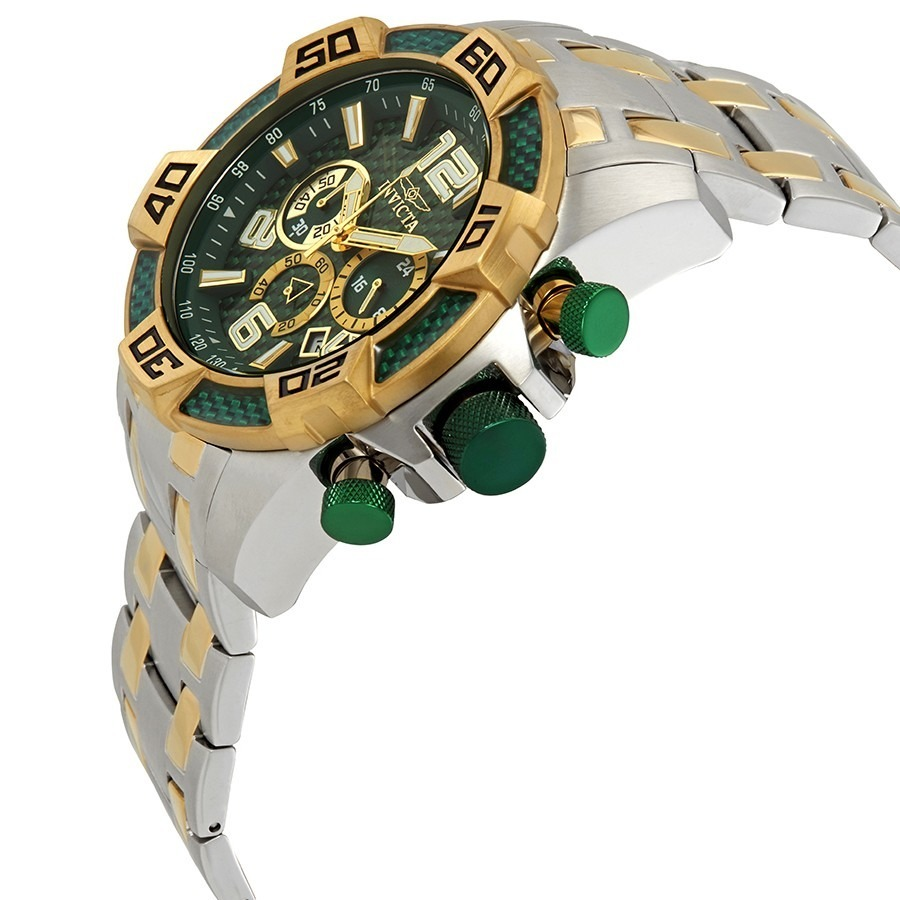 48b0cda05b0 Relógio Invicta Pro Diver 25857 Original Banhado Ouro - R  848