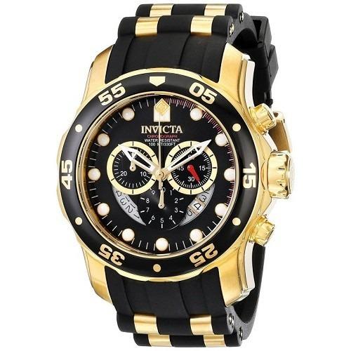 f18bd79d7a6 Relógio Invicta Pro Diver 6981 Dourado Masculino Luxo Ga100 - R  599 ...