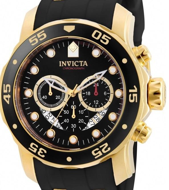 526d645eb42 Relógio Invicta Pro Diver 6981 21928 Dourado Masculino - R  643