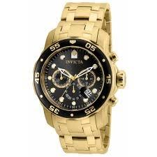 1aed039cec8 Relógio Invicta Pro Diver 80064 Original Folheado A Ouro 18k - R ...