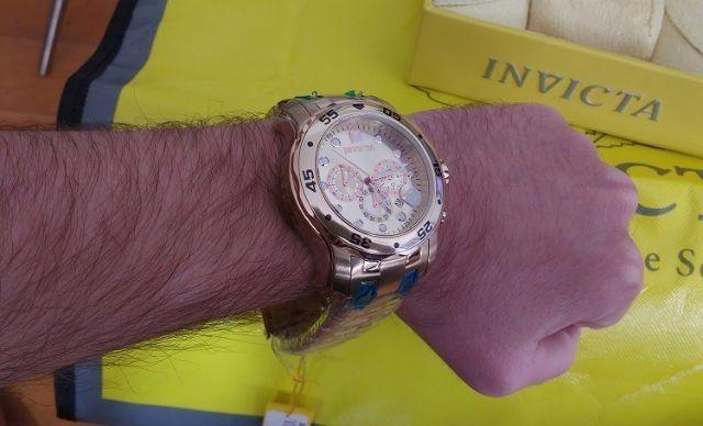 5f2fc140305 Relógio Invicta Pro Diver 80071 - 0071 ( Banhado A Ouro 18k) - R ...