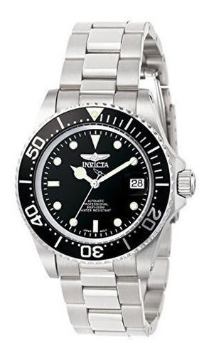 relógio invicta pro diver 9094 - prata, resistência à água