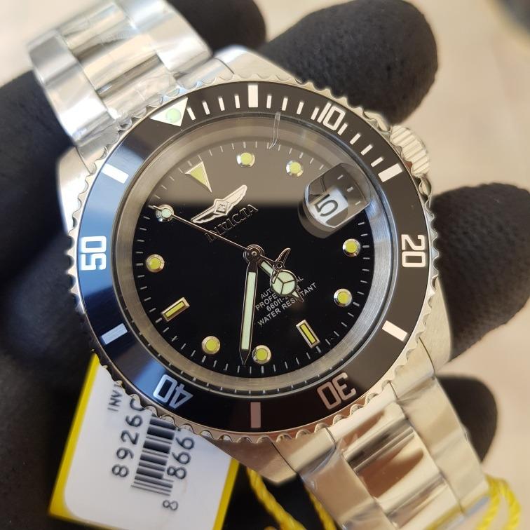 6069b6131d7 Relógio Invicta Pró Diver Automático 8926ob Original Prata - R  649 ...