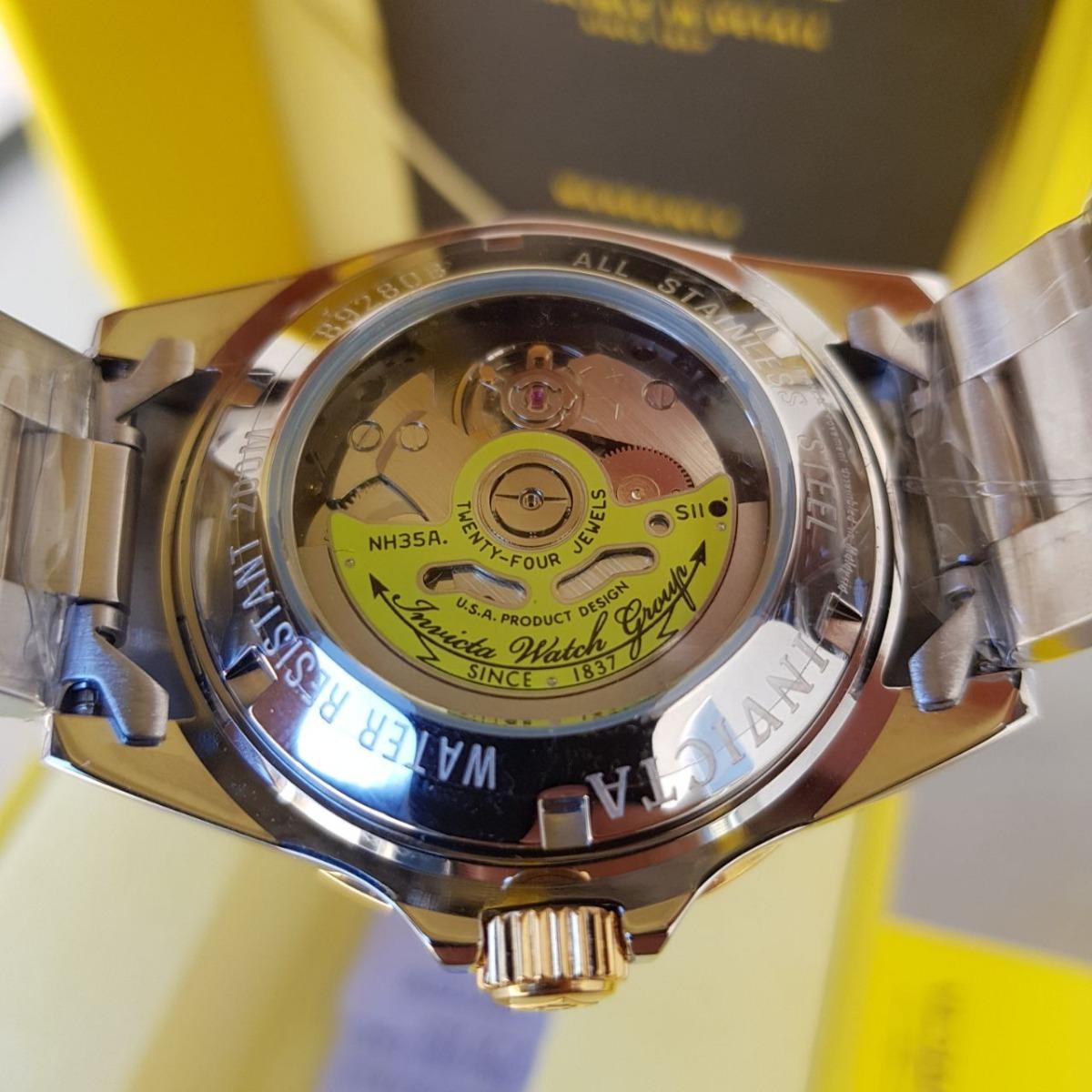 b55a065e90e relógio invicta pro diver automático 8928ob original misto. Carregando zoom.