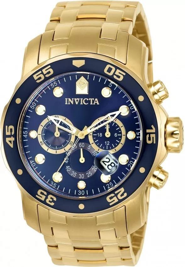 04b1307d80e Relógio Invicta Pro Diver Masculino 0073 Barato Original Nf - R  386 ...