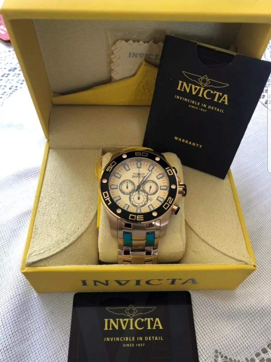 Relógio Invicta Pro Diver Mo 26079 Masculino Dourado - R  799,90 em Mercado  Livre 2d2dd9f3c6