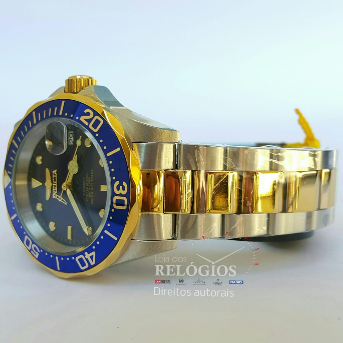 9a010640c1d relógio invicta pro diver mod 8928 original preto rolex. Carregando zoom.