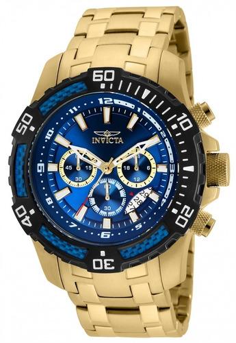 relógio invicta pro diver modelo 24856 azul altarelojoaria
