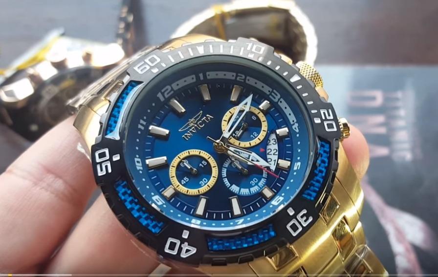 29eaa2859f0 Relógio Invicta Pro Diver Modelo 24856 Azul Altarelojoaria - R  999 ...