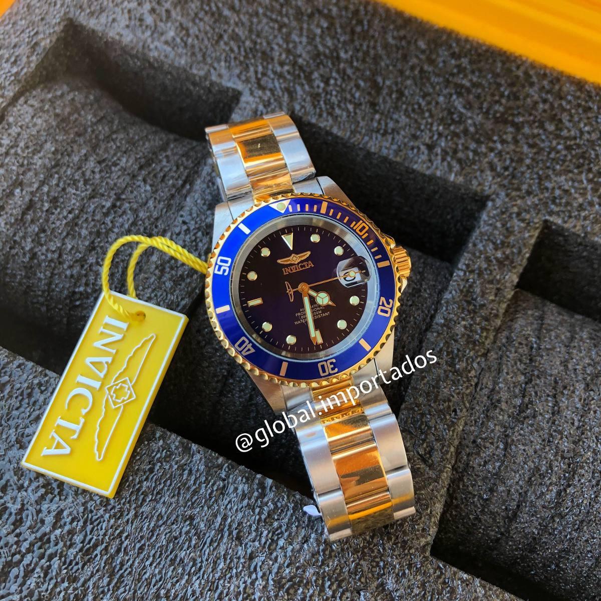 efb96856c06 relógio invicta pro diver original 8928ob. Carregando zoom.