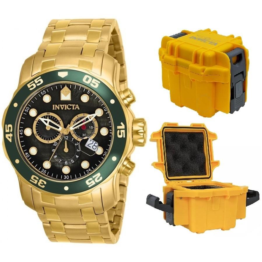 98adc9d8a65 relógio invicta pro diver scuba 80074 (0075) caixa stank. Carregando zoom.