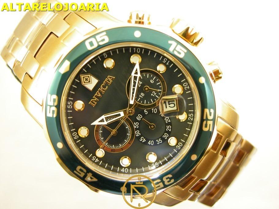 acc5cb21f98 relógio invicta pro diver scuba 80074 garantia 1ano+nf. Carregando zoom.