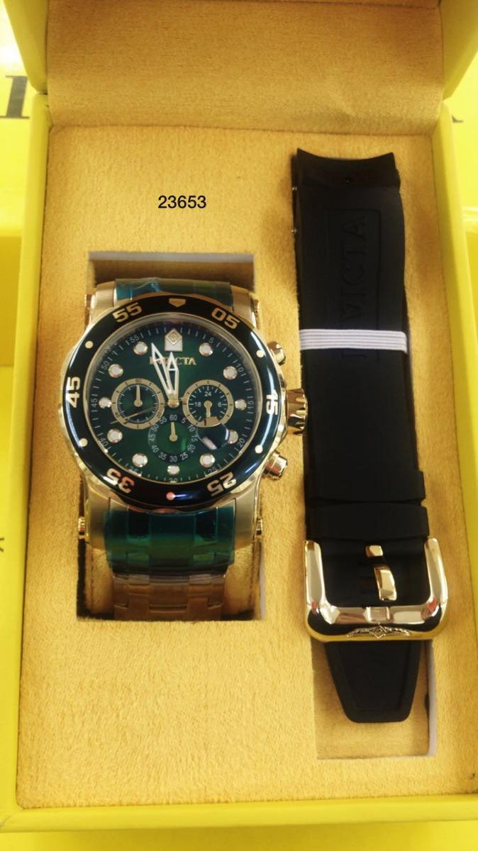 d540f401b9a relógio invicta pro diver troca pulseira 23650 23651 23653. Carregando zoom.