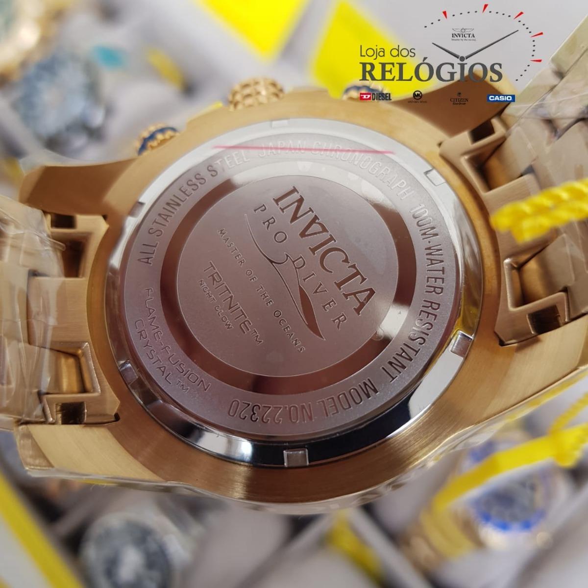 ed52e250f4d Relógio Invicta Pro Diver22320 Lançamento 100%original Lindo - R ...