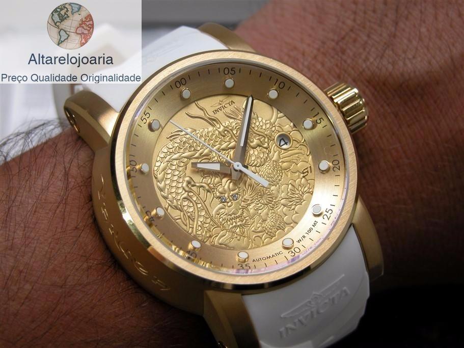 a851386dd98 relógio invicta yakuza automatico original puls branca 19546. Carregando  zoom... relógio invicta puls. Carregando zoom.