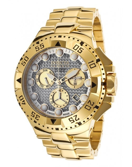 1141e56dc5f Relógio Invicta Reserve 15983 - Ouro - Original - Novo - R  4.999