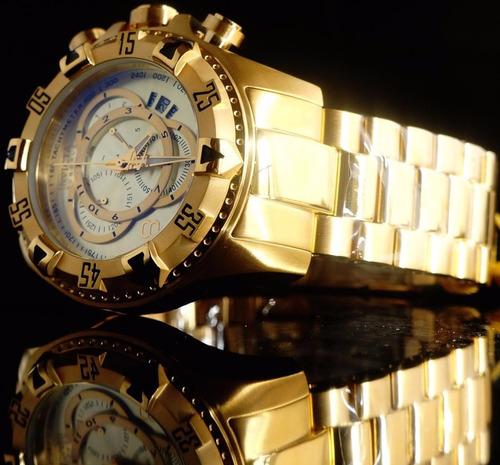 relógio invicta reserve 6471 na caixa e sacola personalizada