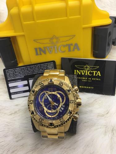 relógio invicta reserve excursion 6471-6469 original