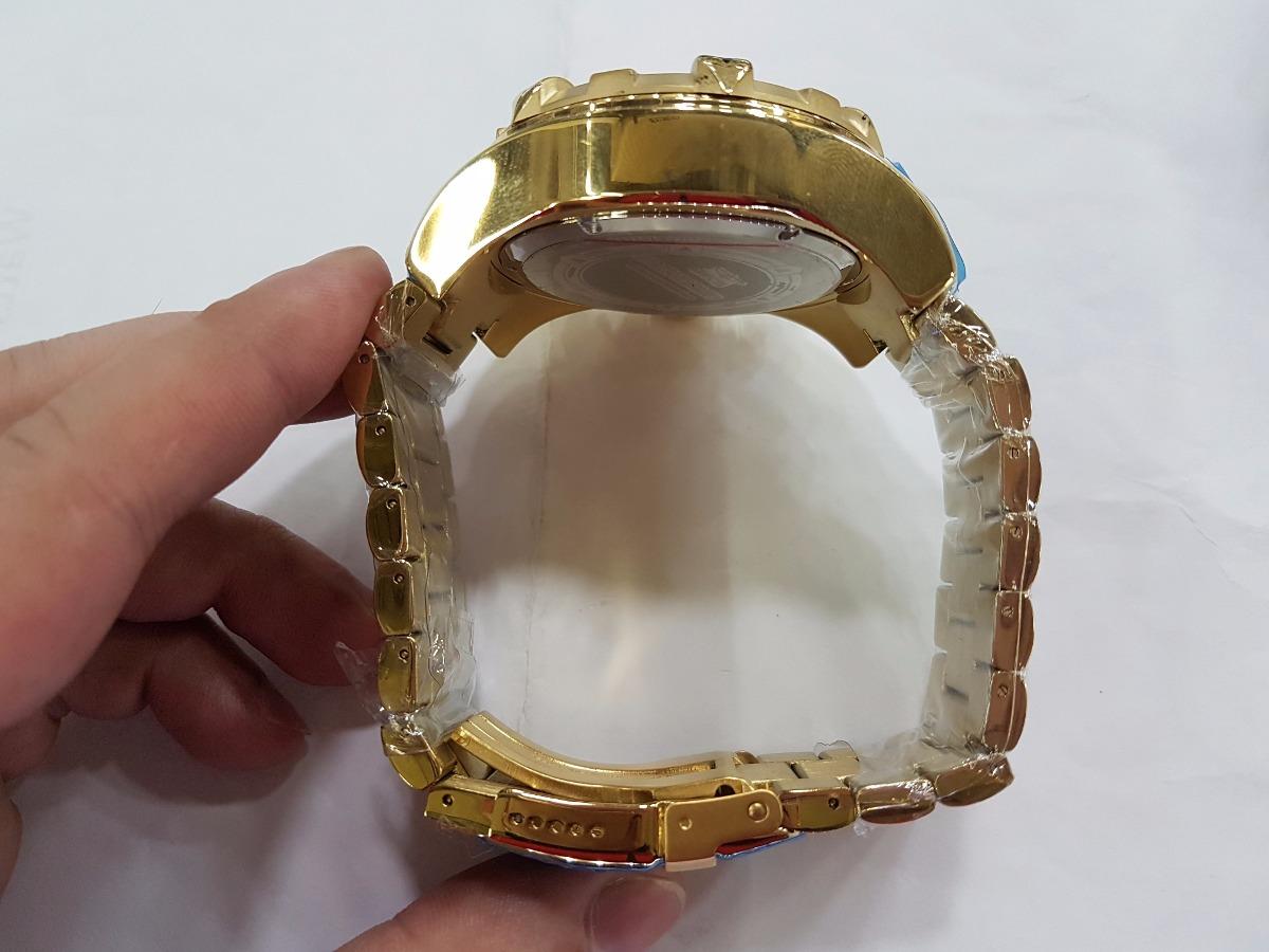 926d638bd56 relogio invicta reserve excursion 6471 gold frete gratis. Carregando zoom.