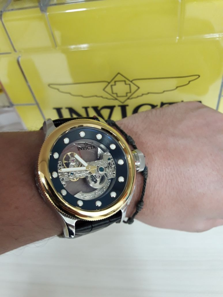 4260f7f8582 relógio invicta russian diver 24594 automático. Carregando zoom.