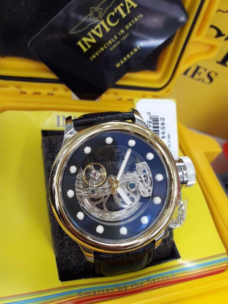 ee99b5eabb8 relógio invicta russian diver modelo 24594. Carregando zoom.
