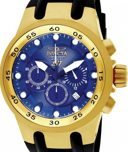 relógio invicta s1 rally - 1510 dourado masculino