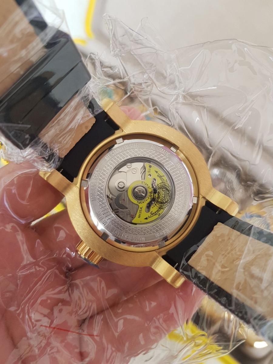 2d9c7550a38 relógio invicta s1 rally yakusa - 15863 preto dourado. Carregando zoom.