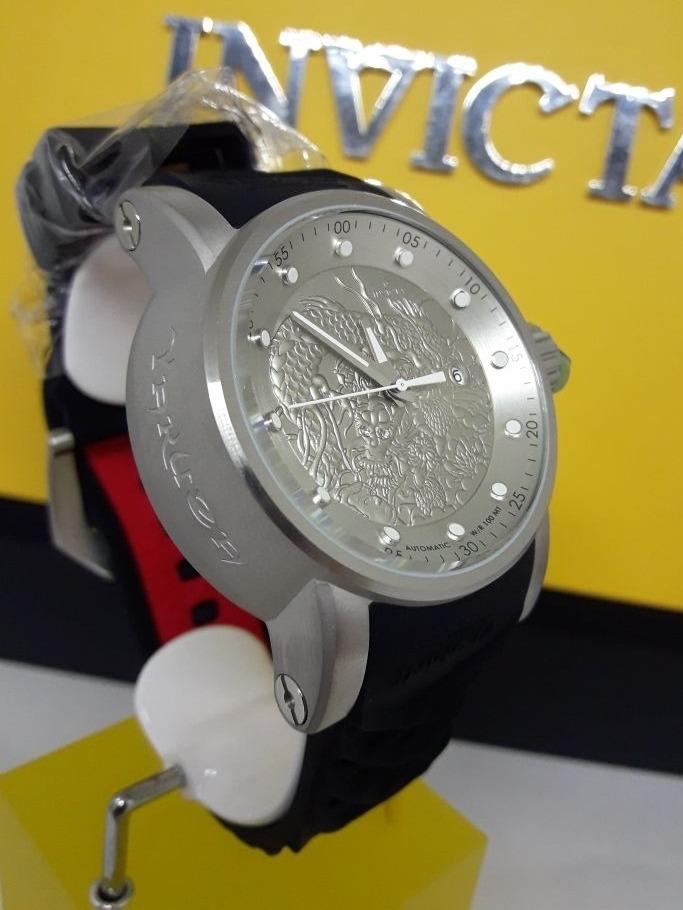 d76e2a5095f relógio invicta s1 rally yakuza 15862 original prata 48mm. Carregando zoom.