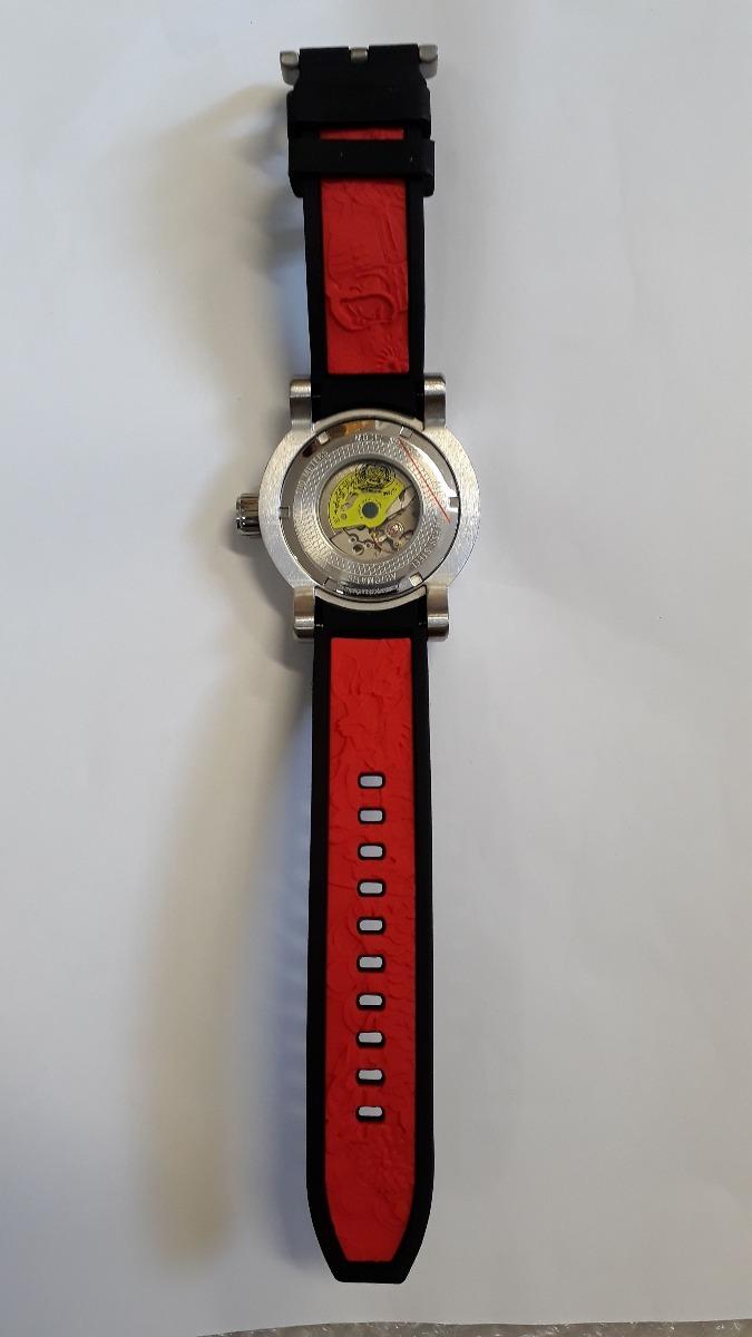 528bd2a1a31 relógio invicta s1 yakuza 15862 prata automático + caixa. Carregando zoom.
