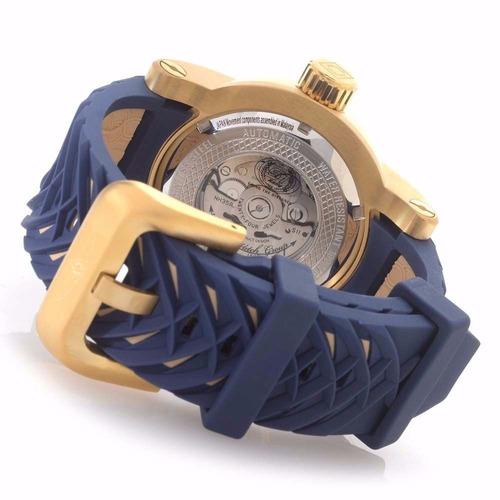 relógio invicta s1 yakuza 18215 azul original promoção 022