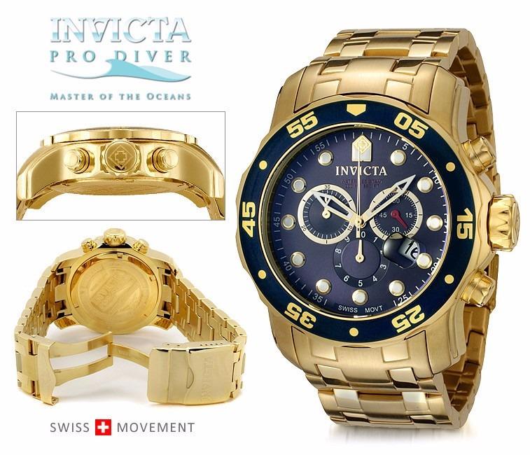 46f5e931e27 Relógio Invicta Scuba Diver 0073 - Frete Grátis! - R  543