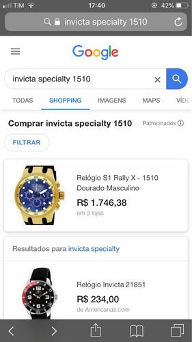 relógio invicta specialty s1 1510 mainkinh history origin!