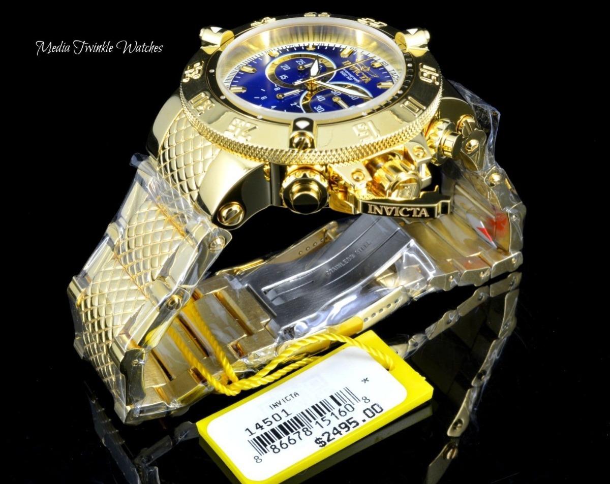 ab2ba023f20 Carregando zoom... relógio invicta subaqua 14502 14500 14501 original maleta