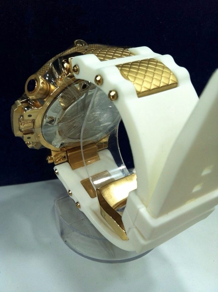 6ce80b8bb0f relógio invicta subaqua 18528 branco original + caixa. Carregando zoom.