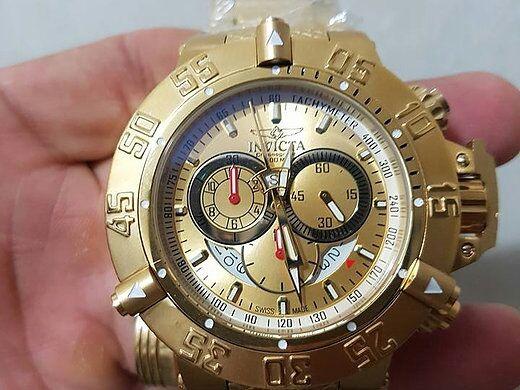 3a3dcd4e16d Relógio Invicta Subaqua Noma Iii Top - R  1.599