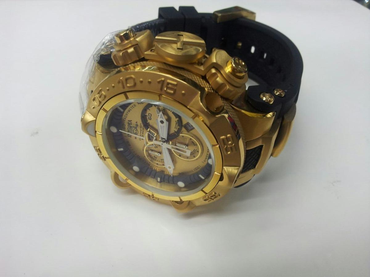 13d57d4df62 relógio invicta subaqua noma v 15926 - banhado à ouro 18k !! Carregando  zoom.