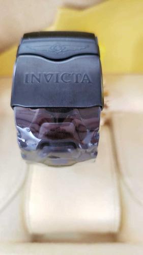 relógio invicta thunderbolt black jt original a prova d'água