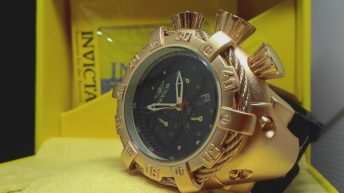 7d52828fba0 relógio invicta thunderbolt grande resistente à água. Carregando zoom.