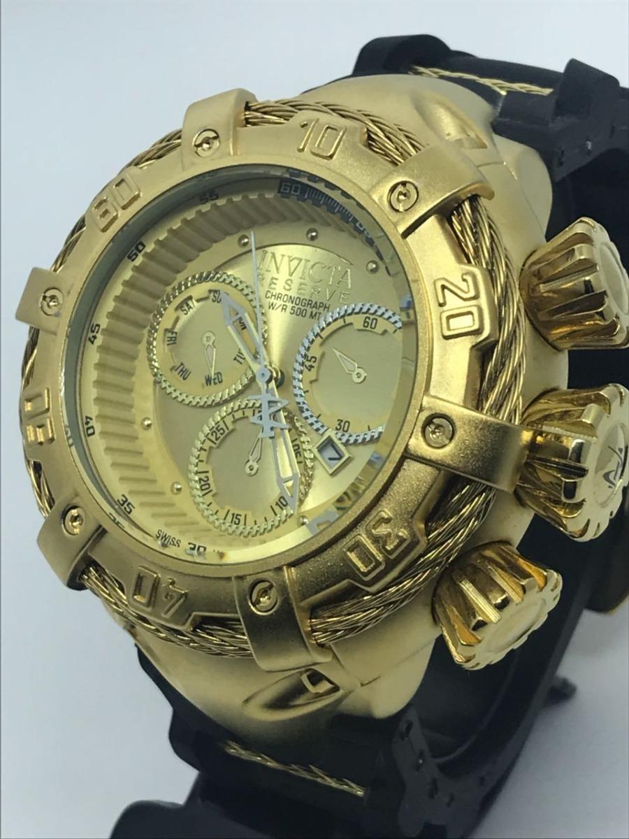 3af34014c2b relógio invicta top aço pulseira de borracha prova d água. Carregando zoom.