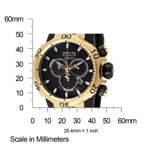 relógio invicta venom - 10833 banhado ouro 18 k original