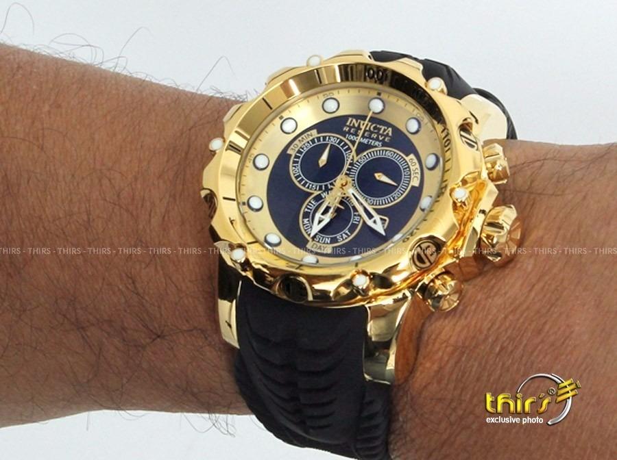 4ba5ac990f5 relógio invicta venom 20401 lançamento ouro preto origina. Carregando zoom.