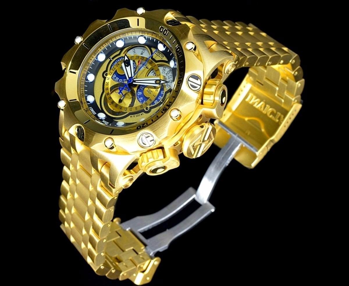 bb140a290f7 relógio invicta venom hybrid 16804 dourado promocional. Carregando zoom.
