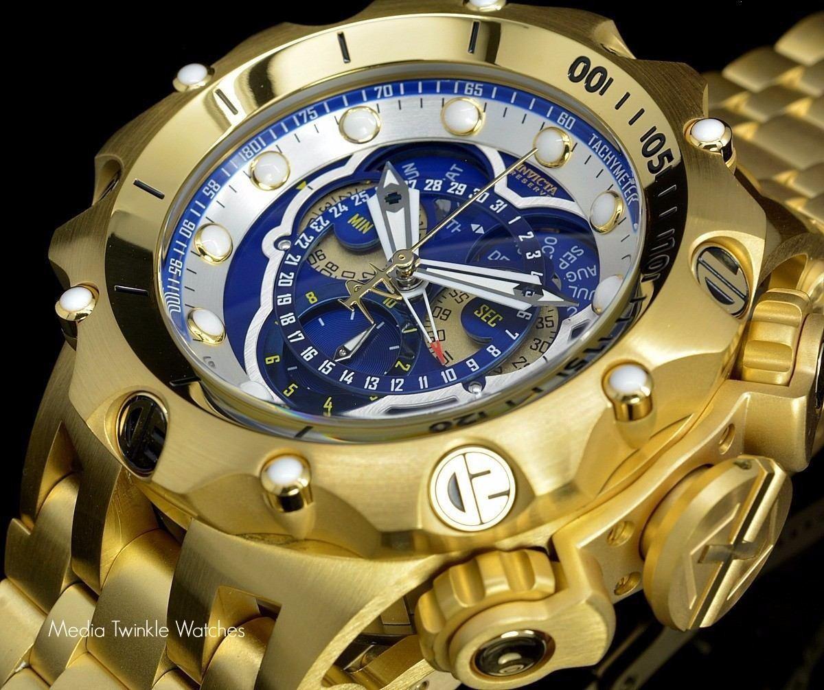ece96390fd6 relógio invicta venom hybrid 16805 garantia top dourado 53mm. Carregando  zoom.