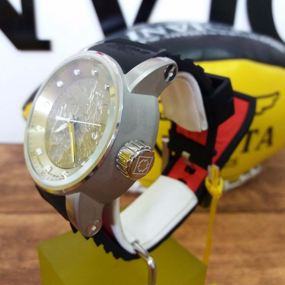 ea8c451acfe relógio invicta yakuza 15862 dragon prata com preto original. Carregando  zoom.